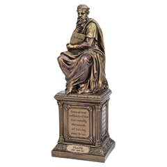 Bronze Finish Plato Statue Sculpture Figurine