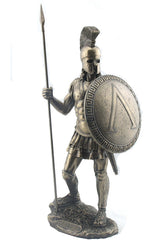 Spartan Warrior With Spear And Hoplite Shield - Knights & Warriors