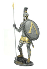 Spartan Warrior With Spear And Hoplite Shield (Mpw+Color)