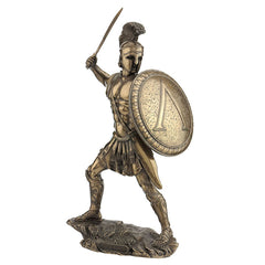 Spartan Warrior With Sword And Hoplite Shield (Mbz) - Knights & Warriors