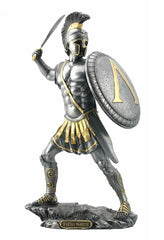 Spartan Warrior With Sword And Hoplite Shield - Knights & Warriors