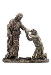 Jesus Healing Blind Man (Mbz+Color) - Religious