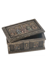 Catholic Saints Trinket Box (Mbz+Color) - Religious