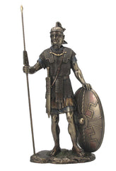 Roman Warrior With Spear And Shield (Mbz+Color) - Knights & Warriors