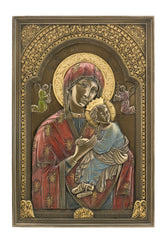 Theotokos - Wall Plaque (Mbz+Color) - Religious