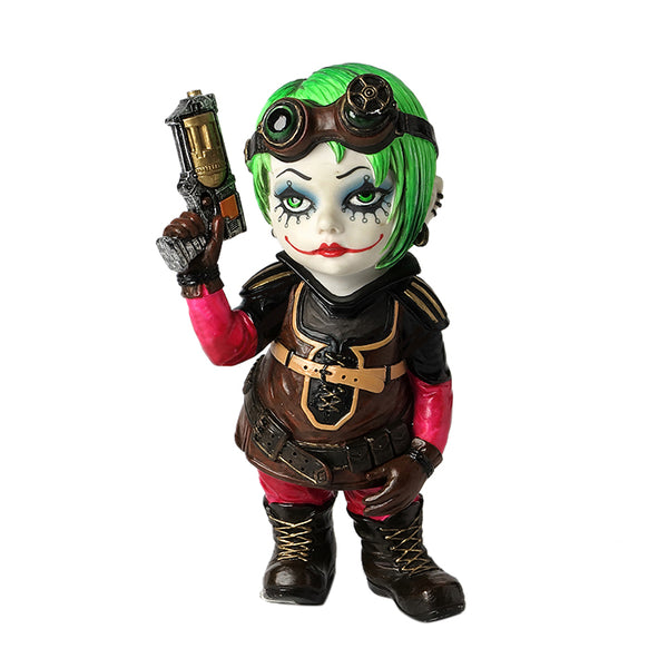 Cosplay Kids - Steampunk Kid With A Revolver - Myth & Legend Sculpture - Polystone