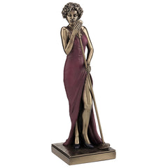 Female Singer - Americana Sculpture - Cold Cast Bronze