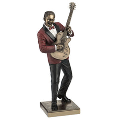 Guitar Player - Americana Sculpture - Cold Cast Bronze