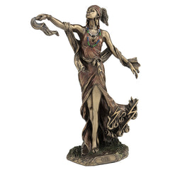 Oya - Goddess Of Wind, Storm And Transformation - Ethnic Collectibles Sculpture - Cold Cast Bronze
