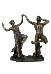 Satyrs Dancing With A Nymph - Myth & Legend