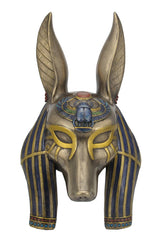 Anubis Mask Wall Plaque - Home Accent