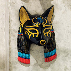 Ancient Egyptian God Bastet Wall Sculpture