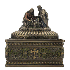 Nativity Trinket Box - Religious