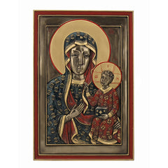 Our Lady Of Czestochowa Wall Plaque (Mbz+Color) - Religious