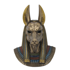 Anubis Bust Wall Plaque - Egyptian