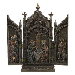 Nativity In Cathedral Triptych - Religious