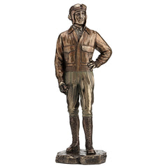 Classic Pilot - Americana Sculpture - Cold Cast Bronze