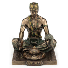 Orunla - God Of Wisdom, Destiny And Prophecy - Ethnic Collectibles Sculpture - Cold Cast Bronze