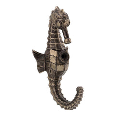 steampunk-seahorse-wall-hook-animal