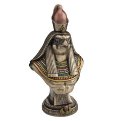Horus Bust On Plinth - Egyptian