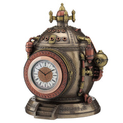 Steampunk Time Machine Trinket Box Clock - Myth & Legend