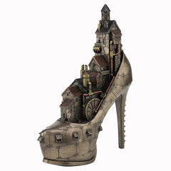 "Steampunk ""Stiletto Hill, Ironopolis"" - Steampunk"