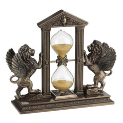 winged-lion-hourglass-gold-sand-home-accent