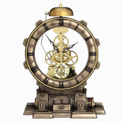 Steampunk Generator Striking Clock - Home Accent
