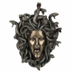 Head Of Medusa Wall Plaque - Home Accent