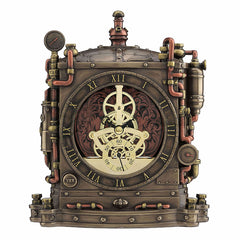 Steampunk Grand Machine Mantel Clock - Home Accent