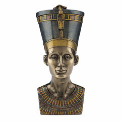 Egyptian Queen Bust Trinket Box - Home Accent