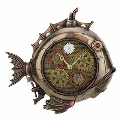 Steampunk Deep Sea Dweller Wall Clock - Animal