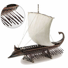 Triremes Greek Warship Myth & Legend. Sculpture
