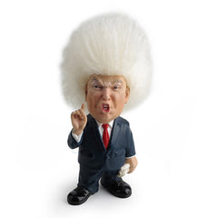 Cartoon Donald J. Trump Hair Doll Americana Statue