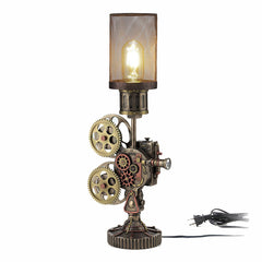 Steampunk Projector Mesh Lamp Myth & Legend. Sculpture