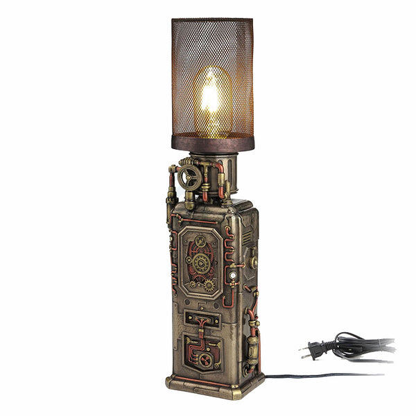 Steampunk Dispenser Tower Lamp Steampunk. Sculpture
