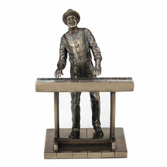 Jazz Band - Jazz Keyboardist Americana Statue