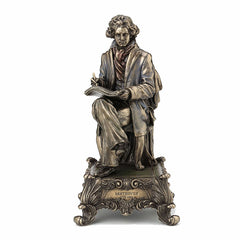 Ludwig Van Beethoven Sitting Music Box (Symphony No.5) Sculpture