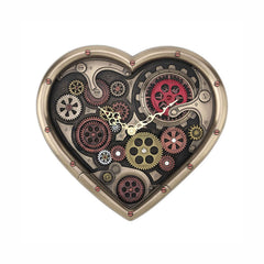 Steampunk Time of Love Wall Clock Myth & Legend. Sculpture