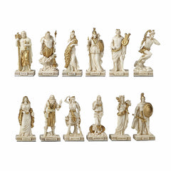 Greek Pantheon The Twelve Olympians Myth & Legend. Sculpture