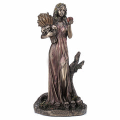 Persephone Greek Goddess Of Vegetation And The Underworld Myth & Legend. Sculpture