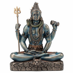 Sitting Shiva Ethnic Sculpture