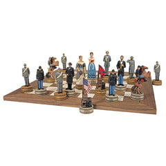 CIVIL WAR COMPLETE CHESS SET
