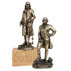 SET OF BEN FRANKLIN & GEORGE WASHINGTON