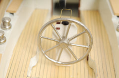 XoticBrands Decor Omega yacht Boat Model Display