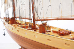 XoticBrands Decor Bluenose II Fully Assembled Boat Model Display