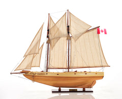 Bluenose II Fully Assembled Boat Model Display