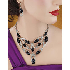Holywood Hayworth Pendant and Earrings Ensemble