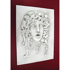 Vappa, Goddess of the Grapes Italian-style Wall Sculpture: Medium