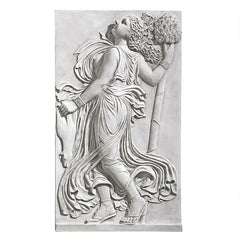 Dancing Greek Maenad with Thyrsus: Right Wall Frieze (5th century BC)
